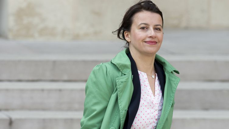 La ministre du Logement, Cécile Duflot, le 26 mars 2014 à l'Elysée. (ALAIN JOCARD / AFP)