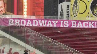 Broadway : les théâtres rouvrent enfin leurs portes (FRANCE 2)