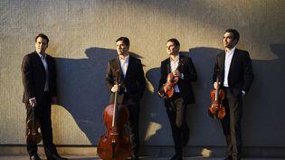 Le quatuor Modigliani (JEROME BONNET)