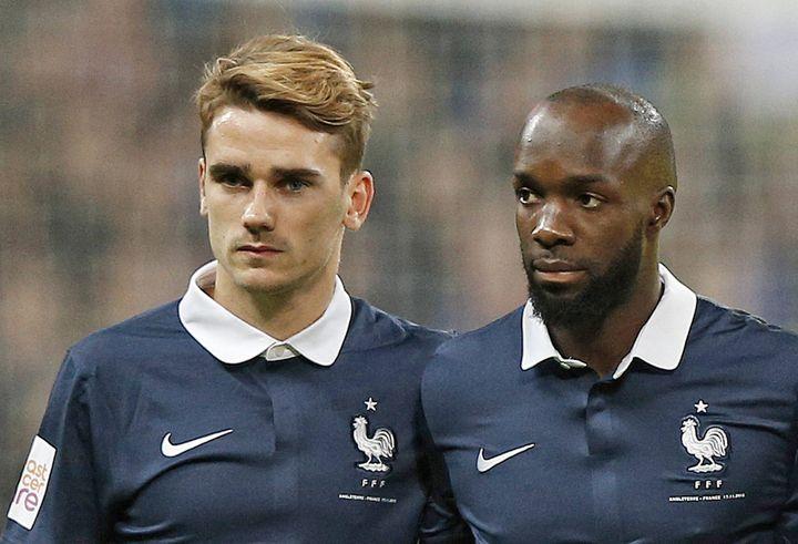 Antoine Griezmann et Lassana Diarra
