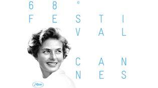 Ingrid Bergman sur l'affiche du 65e Festival de Cannes (2015)  (FDC / Lagency / Taste (Paris) / Ingrid Bergman © David Seymour / Estate of David Seymour - Magnum Photos / http://www.davidseymour.com)