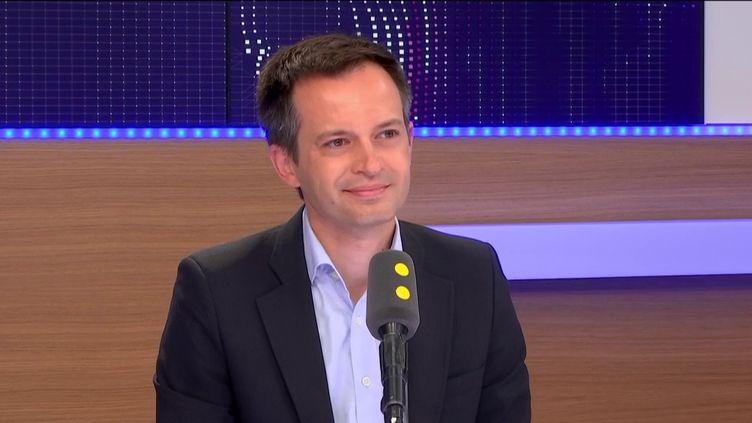 Pierre-Yves Bournazel,député de Paris. (FRANCEINFO / RADIO FRANCE)