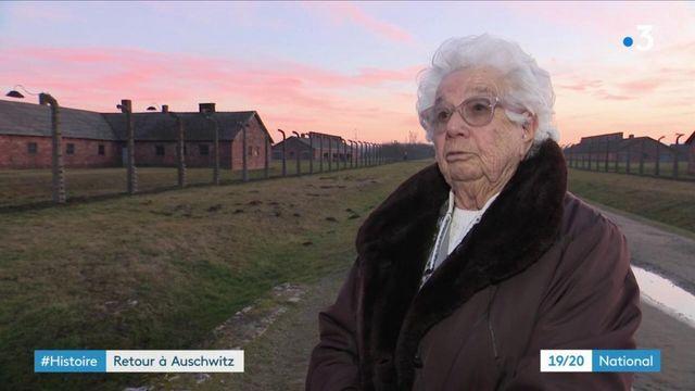 Libération du camp d'Auschwitz : Esther Sénot, 92 ans, se souvient