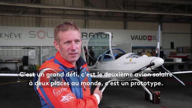 Raphaël Domjan, un parachutiste suisse, a réussi à concilier le respect de l'environnement et une prouesse mondiale. Il a accompli une chute en parachute via un avion solaire.