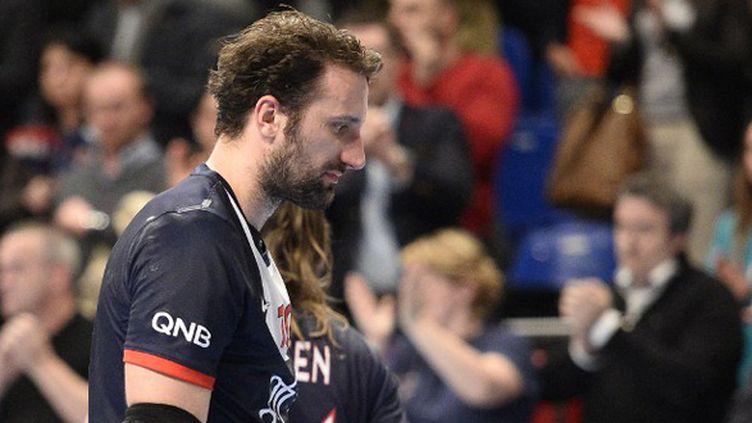 Igor Vori, malgré ses deux buts, n'a pas réussi à détacher le PSG. (FRANCK FIFE / AFP)