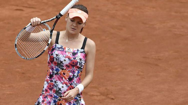 La Polonaise Agnieszka Radwanska a été éliminée au 3e tour de Roland-Garros