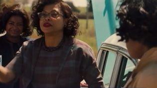 En salles le mercredi 8 février, ce film retrace l'histoire de trois Afro-américaines qui réussissent à s'imposer dans le secteur ultra-masculin de l'aérospatiale dans les années 60. (FRANCE 3)