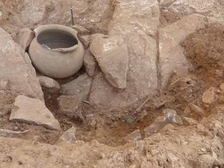 Fouilles du site archéologique de Nîmes. (INRAP)