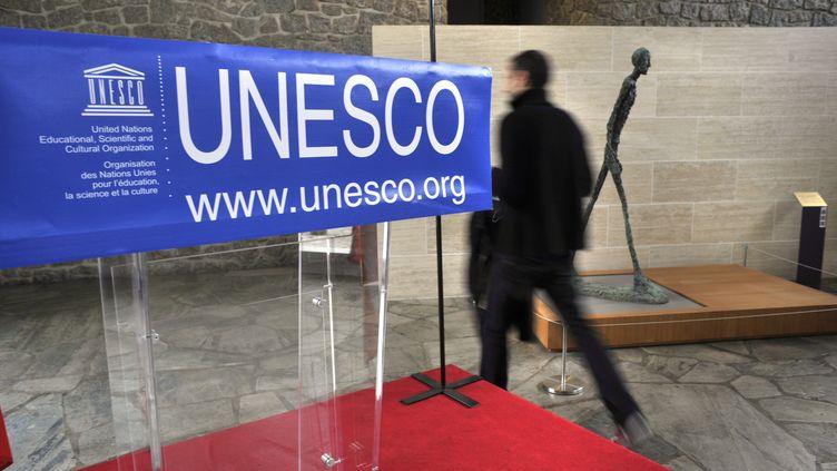 Le siège de l'Unesco, à Paris, le 12 juillet 2017. (SERGE ATTAL / ONLY FRANCE / AFP)