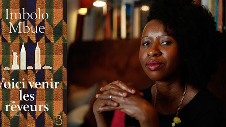 La romancière Imbolo Mbue  (Thomas SAMSON / AFP)