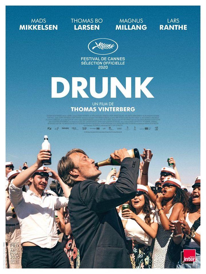 """L'affiche de """"Drunk"""" de Thomas Vinterberg. (Haut et Court)"""