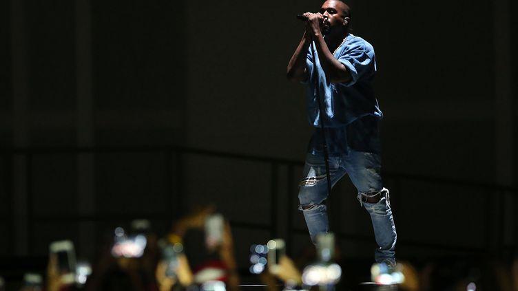 Kanye West en concert à Toronto au Canada le 26 juillet 2015. (USA TODAY SPORTS / REUTERS)