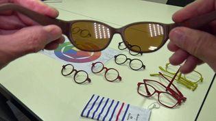 Ces lunettes sont issues du recyclage des filets de pêche (France 3 Bretagne)