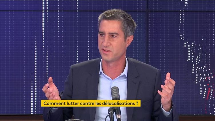 François Ruffin, sur franceinfo, le 23 septembre 2020. (FRANCEINFO / RADIOFRANCE)