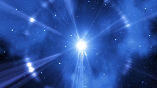 L'explosion d'une supernova représentée par ordinateur. (MEHAU KULYK / AFP)