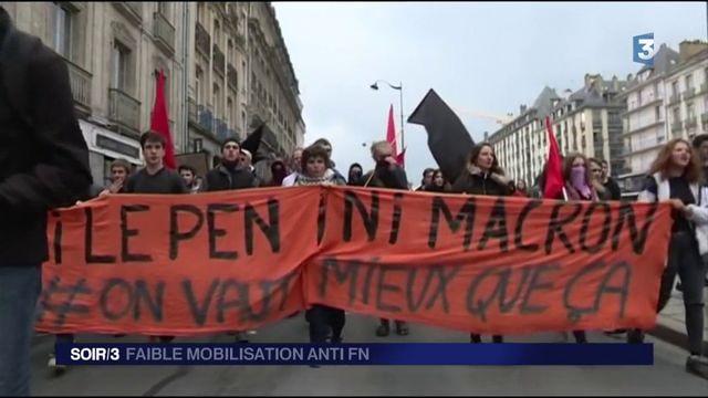 Présidentielle : faible mobilisation contre le Front National