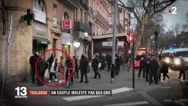 Toulouse : un couple molesté par des CRS sur une vidéo amateur