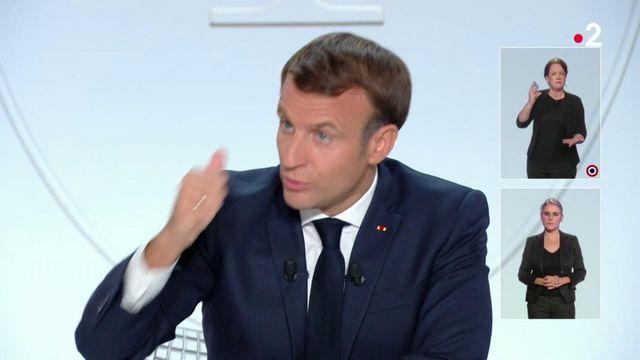 Crise sanitaire : Entretien exclusif avec Emmanuel Macron