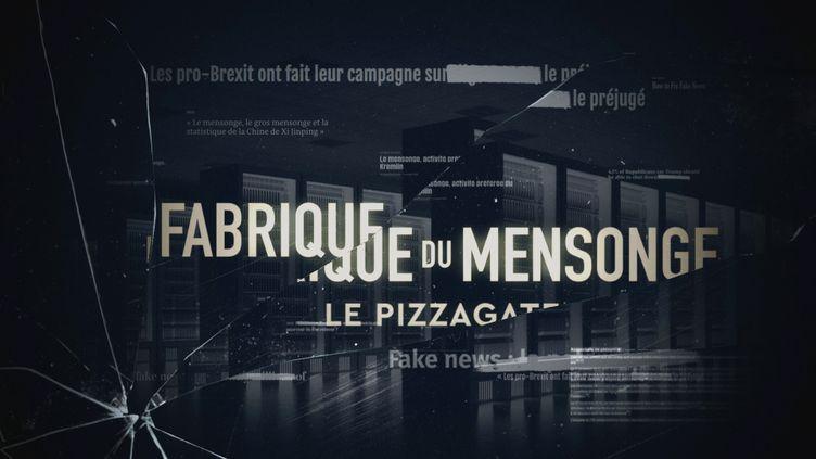LA FABRIQUE DU MENSONGE - FRANCE TELEVISIONS (LA FABRIQUE DU MENSONGE - FRANCE TELEVISIONS)