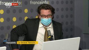 David Dufresne était l'invité de franceinfo vendredi 21 mai 2021. (FRANCEINFO)