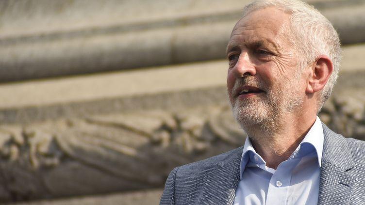Jeremy Corbyn, le 13 juillet 2018, à Londres. (ALBERTO PEZZALI / AFP)
