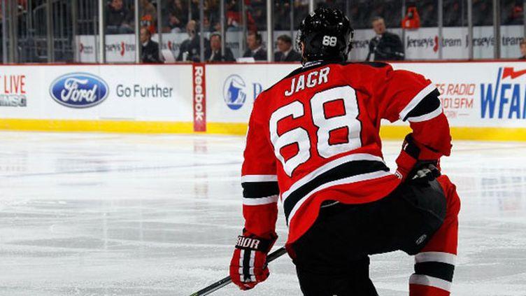 Le hockeyeur tchèque Jaromir Jagr