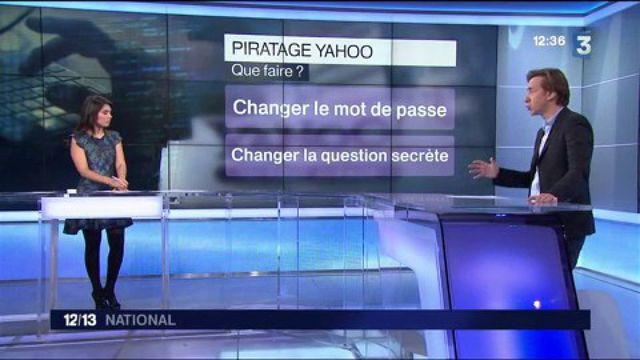 Yahoo! : une cyberattaque a piraté plus d'un milliard de données en 2013