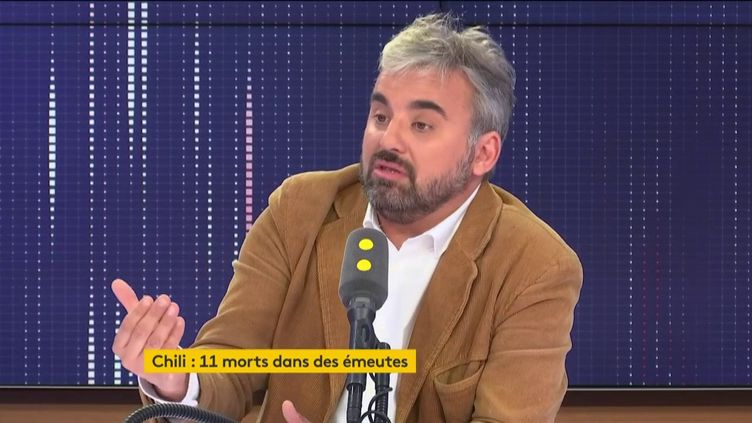 Alexis Corbière,député La France insoumise de Seine-Saint-Denis, était l'invité de franceinfo mardi 22 octobre 2019. (FRANCEINFO / RADIO FRANCE)