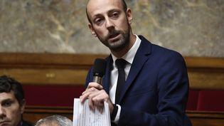 Le député de Paris Stanislas Guerini lors des questions au gouvernement à l'Assemblée nationale, le 24 octobre 2018. (BERTRAND GUAY / AFP)