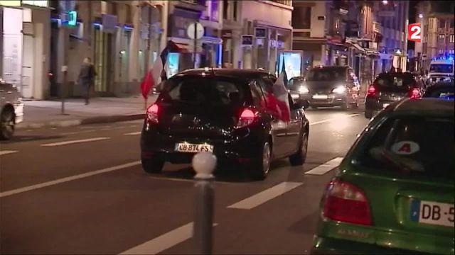 Euro 2016 : très bonne ambiance à Lille lors du match France-Suisse