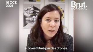 VIDEO. Loi Sécurité globale : l'usage des drones par la police autorisé ? (BRUT)