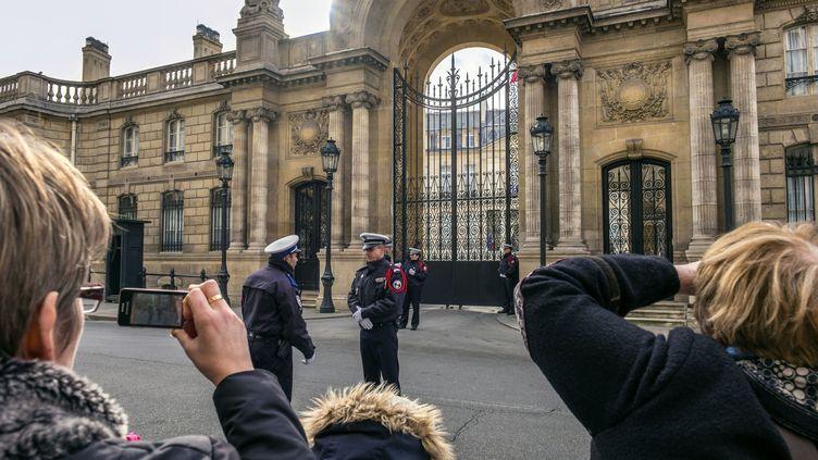 Le palais de l'Elysée, le 6 février 2016 à Paris. (GUIZIOU FRANCK / HEMIS.FR / AFP)