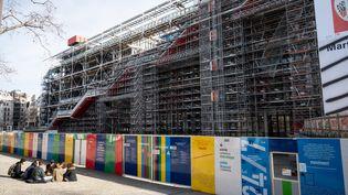 Façade du centre national d'art et de culture Georges-Pompidou. (RICCARDO MILANI / HANS LUCAS / AFP)
