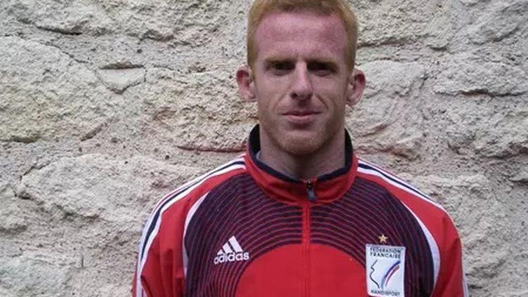 Sylvain Morvan, le sélectionneur de l'équipe de France de football sourd.