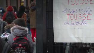 grève école  (FRANCEINFO)