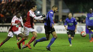 Reims a été battu 4 buts à 1 par Chambly, en 32esde finales de la Coupe de France. (TOUCHART / MAXPPP)