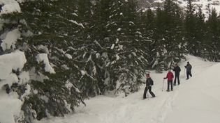Les raquettes sont une autre manière de profiter de la montagne. France 2 s'est rendue en Savoie, à Pralognan-la-Vanoise. (France 2)