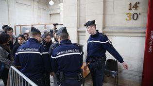 Jonathan Guyot comparaît devant le tribunal correctionnel de Paris. (GEOFFROY VAN DER HASSELT / AFP)