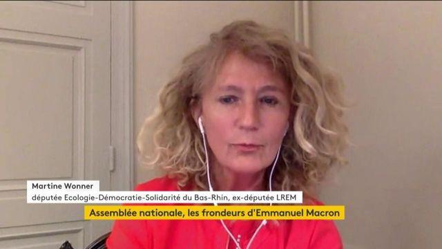 """Martine Wonner : """"Nous n'avions pas pu porter les valeurs d'écologie, de démocratie et de solidarité malgré les promesses présidentielles"""""""