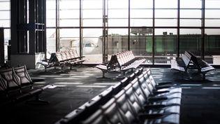 A l'aéroport de Doha, en avril 2020. (ST?PHANE FERRER YULIANTI / HANS LUCAS / AFP)
