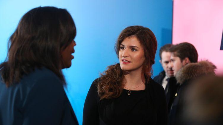 La secrétaire d'Etat à l'Egalité entre les femmes et les hommes, Marlène Schiappa, le 24 janvier 2019 à Paris. (MICHEL STOUPAK / NURPHOTO / AFP)