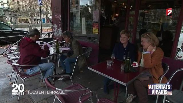 """Attentats à Paris : l'opération """"Tous au bistrot !"""" appelle les Parisiens à réinvestir les terrasses"""