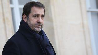 Le ministre de l'Intérieur Christophe Castaner à Paris, le 16 janvier 2019. (LUDOVIC MARIN / AFP)