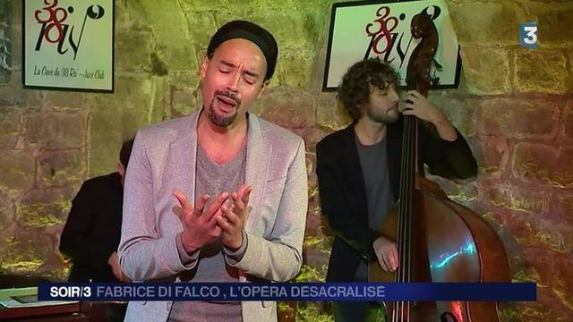 Musique : Fabrice Di Falco, de l'opéra dans les caves de jazz