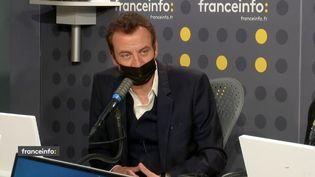 Hervé Boissière, patron de la chaîne musicale Mezzo, était l'invité de franceinfo mardi 9 mars 2021. (FRANCEINFO / RADIO FRANCE)