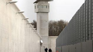 Le centre de détention de Roanne, le 19 janvier 2009. (PHILIPPE MERLE / AFP)