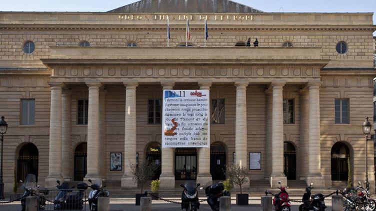 Le Théâtre de l'Odéon, Paris 6e.  (Bravo Ana / AFP)