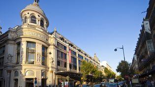 Le grand magasin Printemps-Haussmann de Paris est situé boulevard Haussmann, dans le 9e arrondissement de la capitale. (GARDEL BERTRAND / HEMIS.FR / AFP)