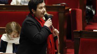 La ministre de l'Enseignement supérieur Frédérique Vidal, le 22 novembre 2017, à l'Assemblée nationale. (FRANCOIS GUILLOT / AFP)
