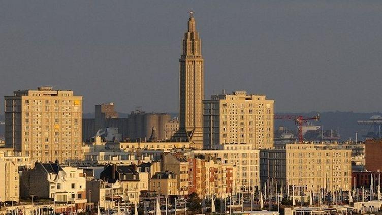Le Havre (Seine-Maritime) entièrement reconstruite par les ateliers Perret après la seconde guerre mondiale  (ROLLINGER-ANA / ONLY FRANCE)